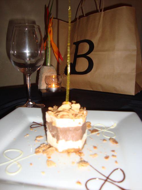 Yummy Bacchus dessert