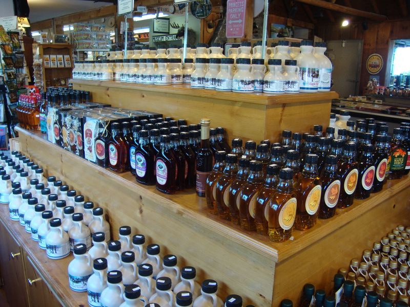 Maple syrup at the 100 mile point
