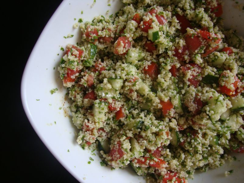 Tabouleh with couscous