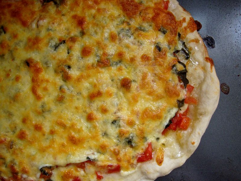 Pizza margherita- ready to eat