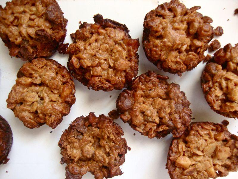 Choco+pb granola bites