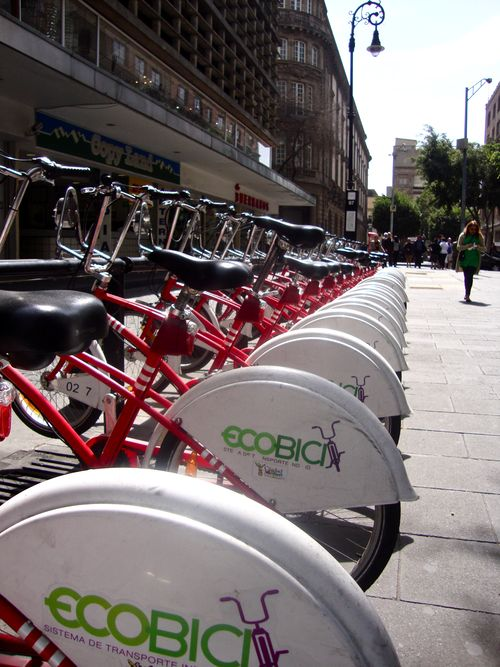 The eco-bicis