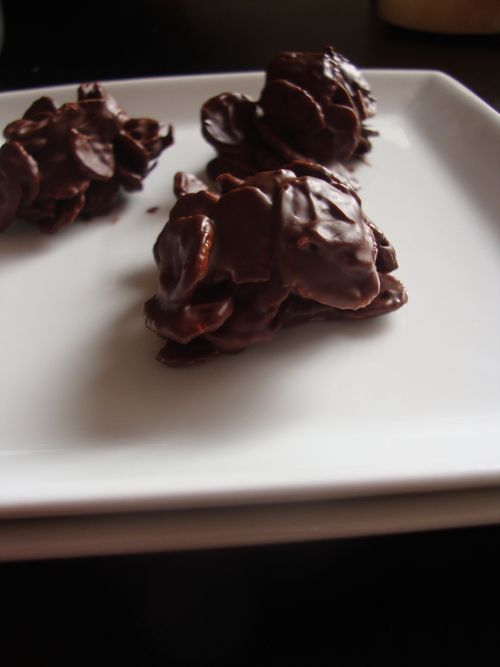 Chocolate peanutbutter mounds