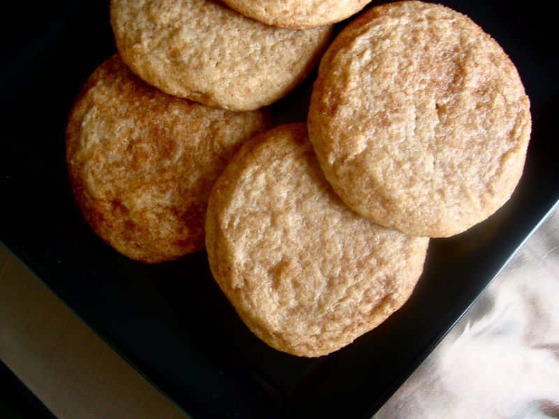 Fluffy snickerdoodles