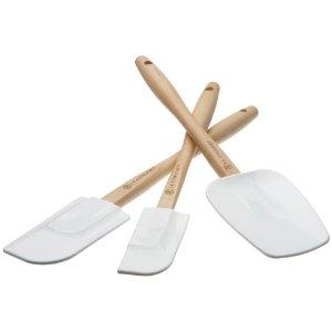 Le Creuset spatula set: white