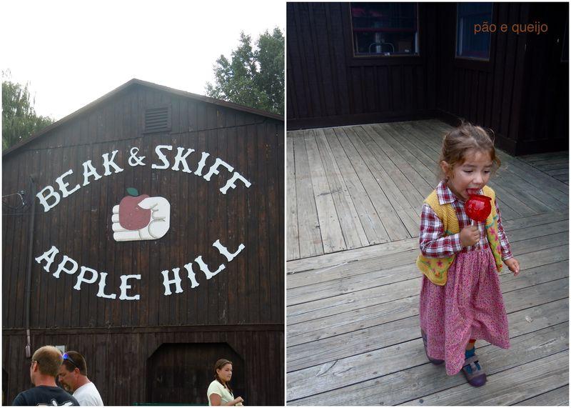 Beak & Skiff, Aimee with caramel apple