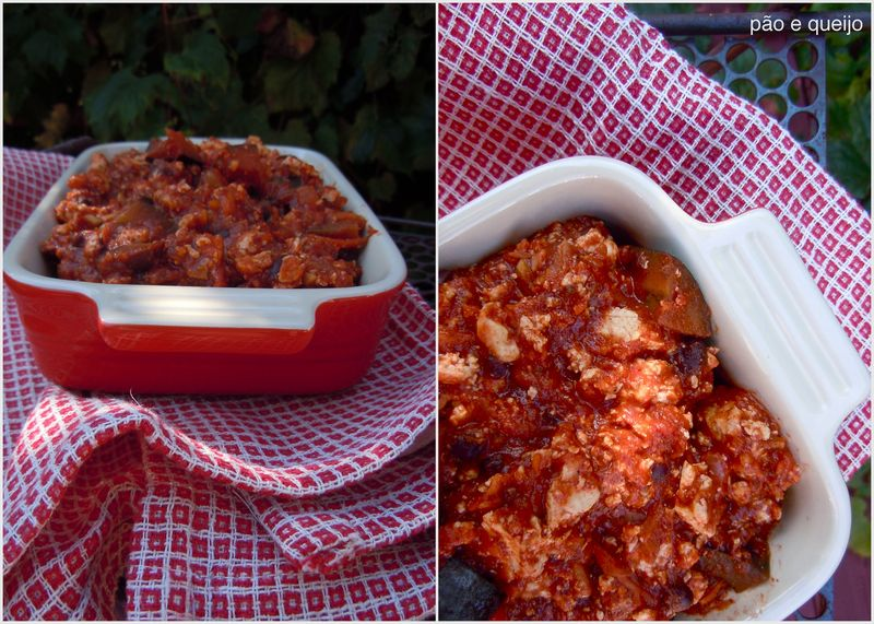 Chili & Vegetarian chili with tofu and eggplant