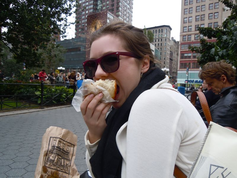 Sticky bun from Amy's Bread