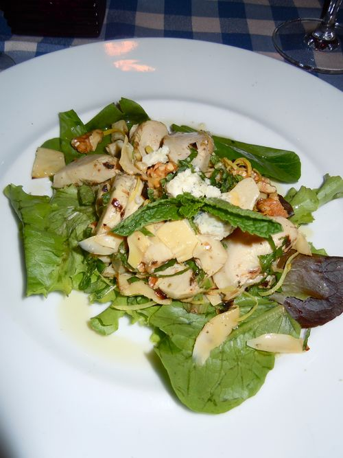 Artichoke salad from Henry's NYC