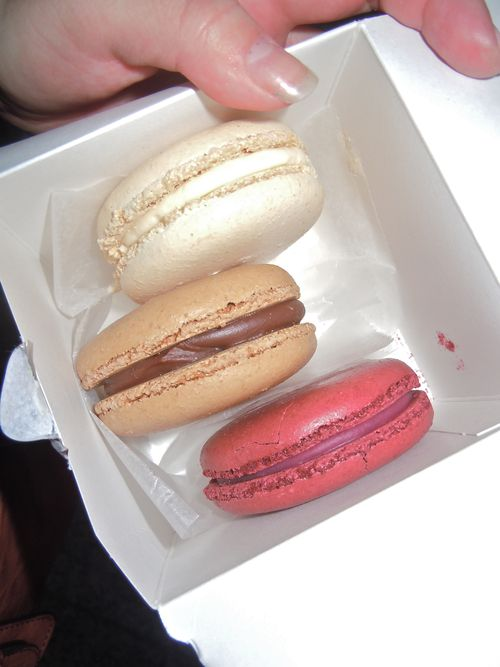 Macarons from Bouchon Bakery NYC