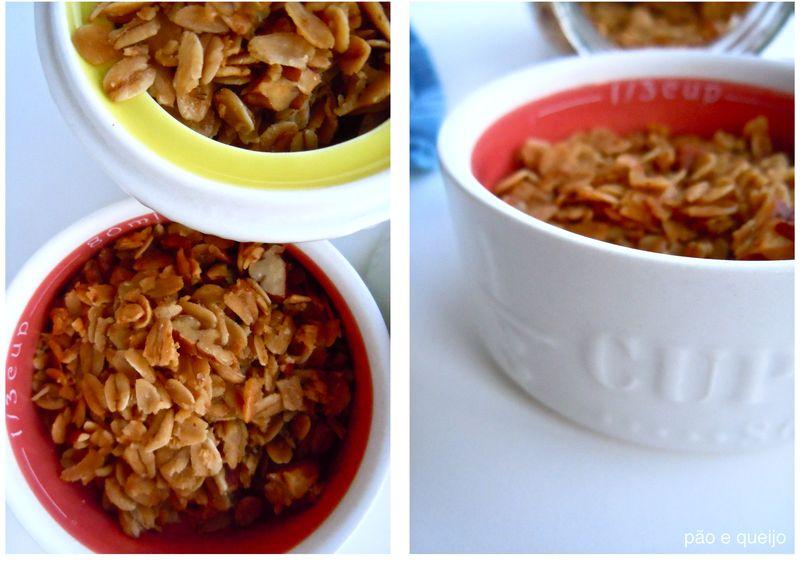 Vanilla pecan granola