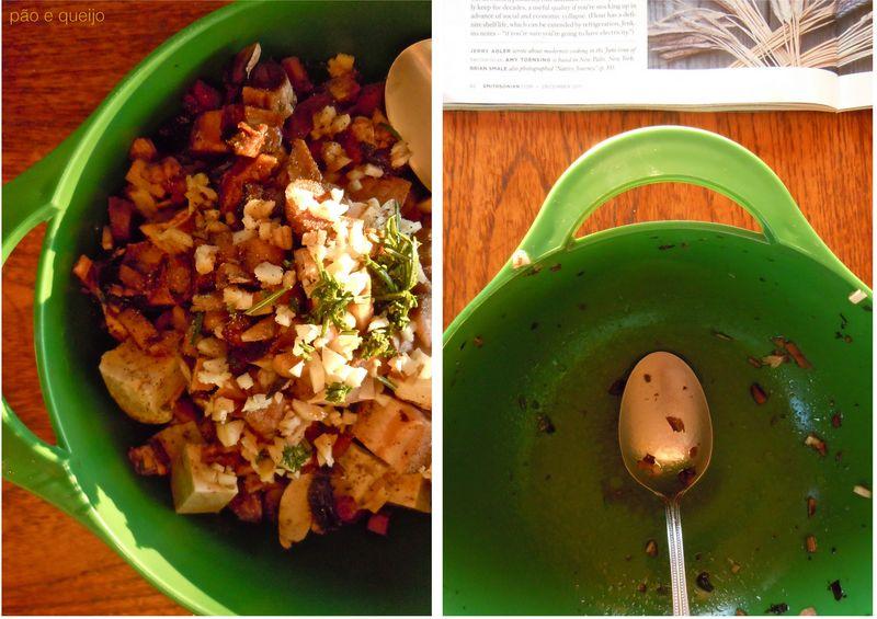 Mushrooms & tofu en papillote1