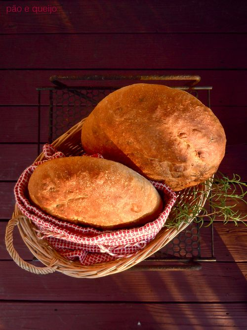 Rosemary free form loaves