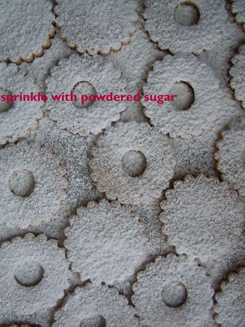 Pecan Linzer Cookies with Raspberry Filling
