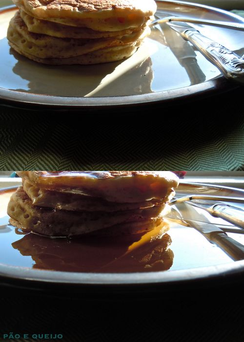 Whole wheat pancakes-1